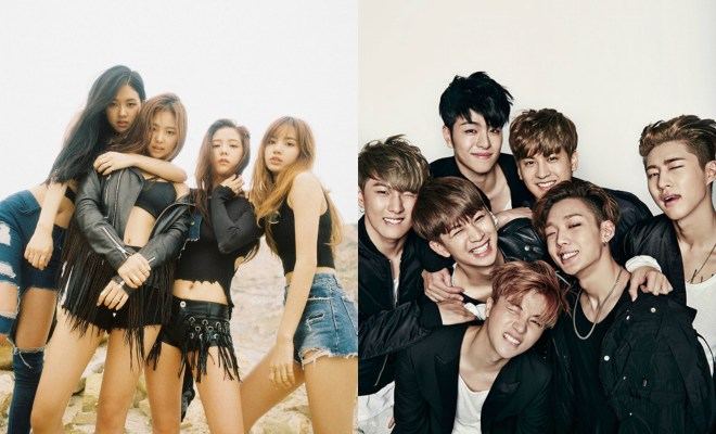 Blackpink and ikon to take part in japans a nation in august yg entertainment star1 stopboris Choice Image