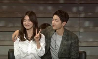 Song Joong Ki, Song Hye Kyo, Descendants of the Sun