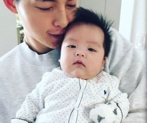 New Photos Song Joong Ki Showers His Baby Nephew With Fatherly Love