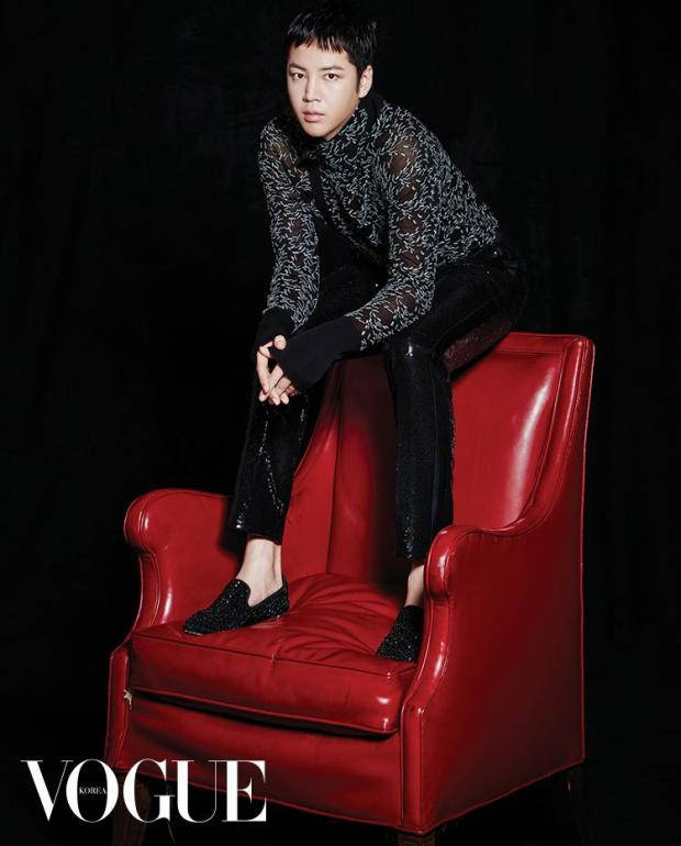 Jang Geun Suk Vogue Korea