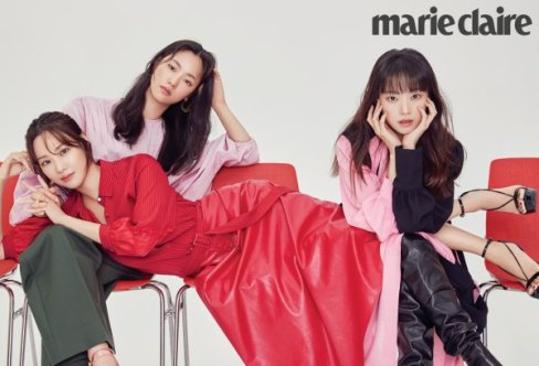 """K-Photo Reel: The Cast of jTBC's Upcoming Drama """"Be Melodramatic"""" Dons A  Colorful Ensemble For Marie Claire"""