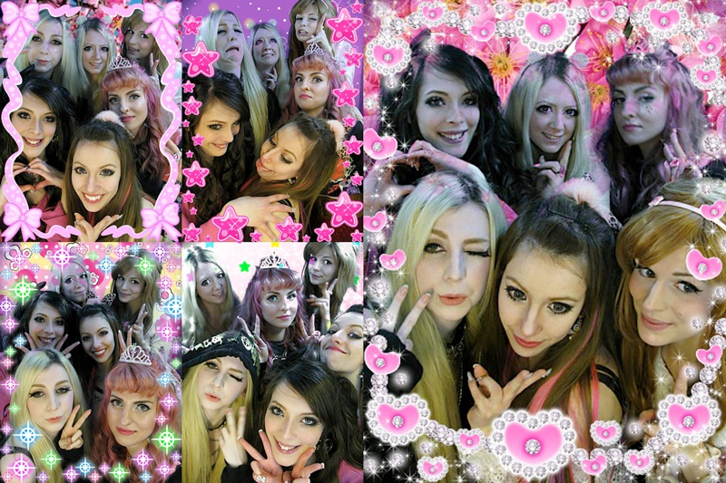 Kawaii purikura in London