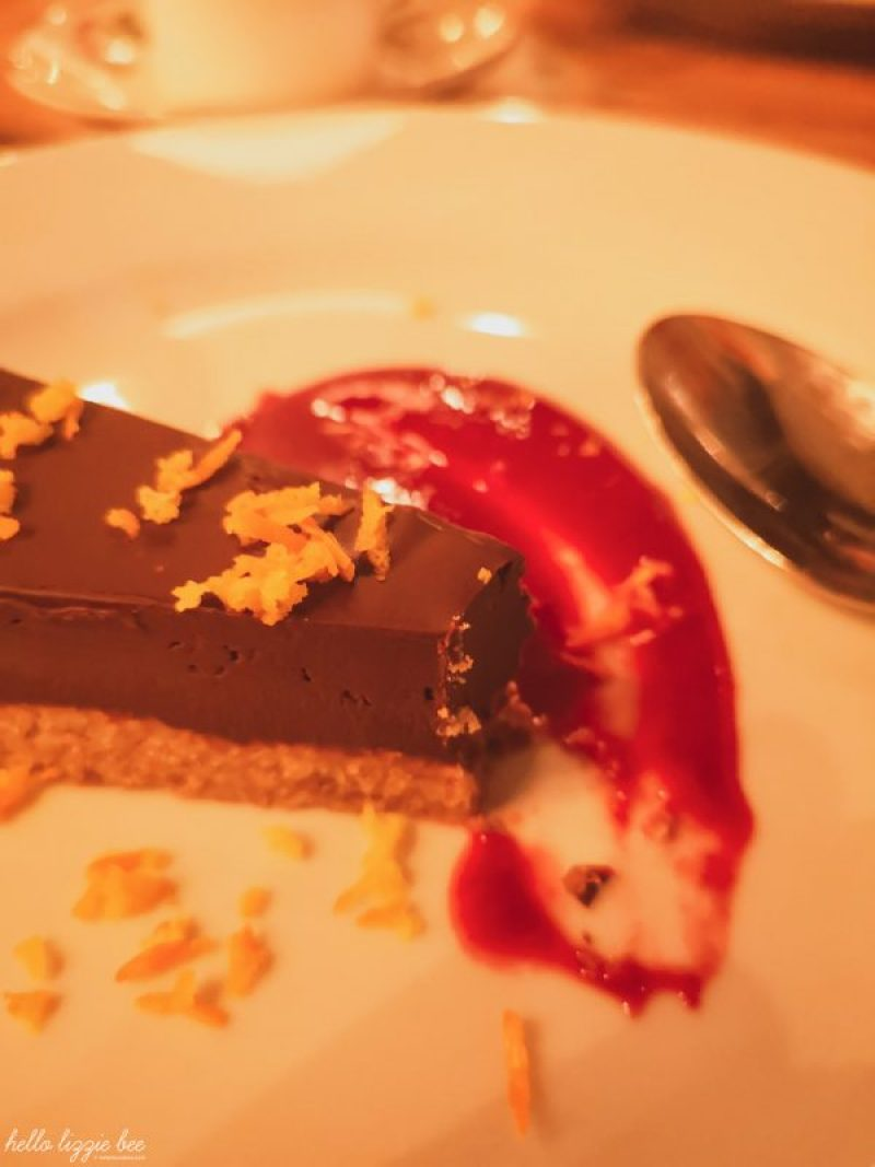 Cosy Club's Vegan Chocolate and Orange Torte by hellolizziebee