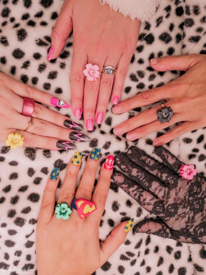 Gyaru nails photo by hellolizziebee
