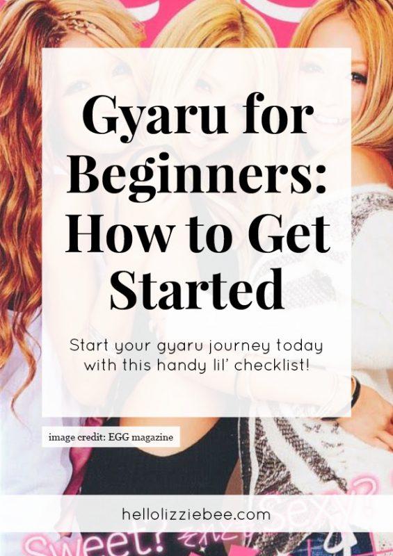 gaijin gyaru, gaijin gyaru guide, what is gyaru, how to be gyaru