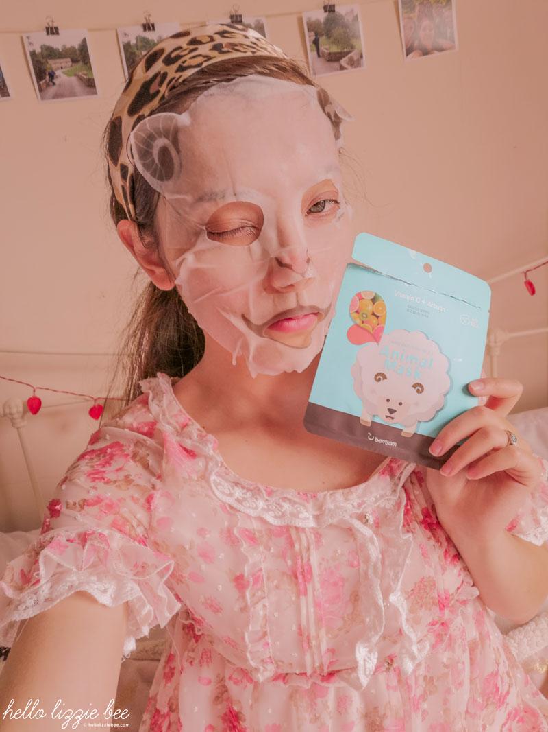 Berrisom Sheep Animal Mask