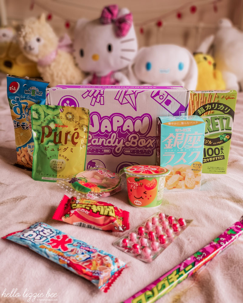 Japan Candy Box review by hellolizziebee