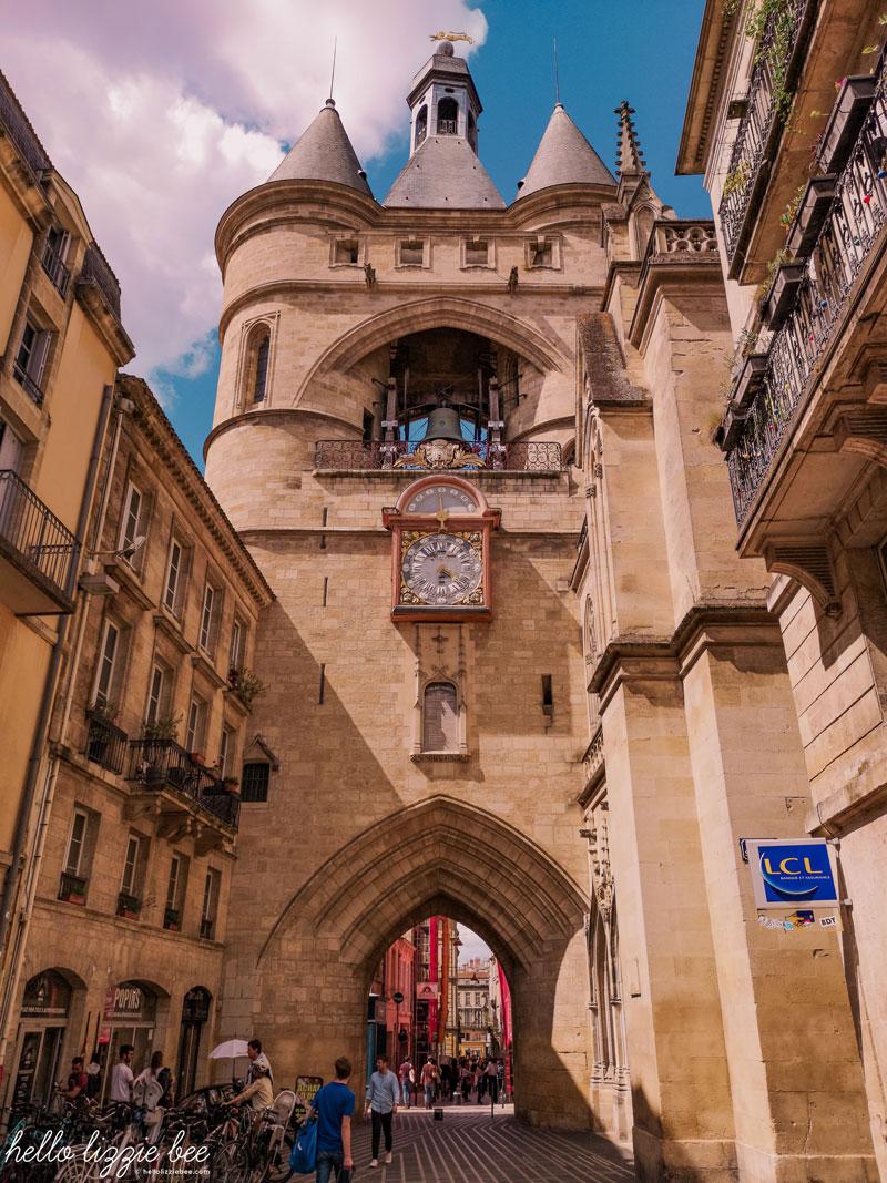 The Grosse Cloche in Bordeaux