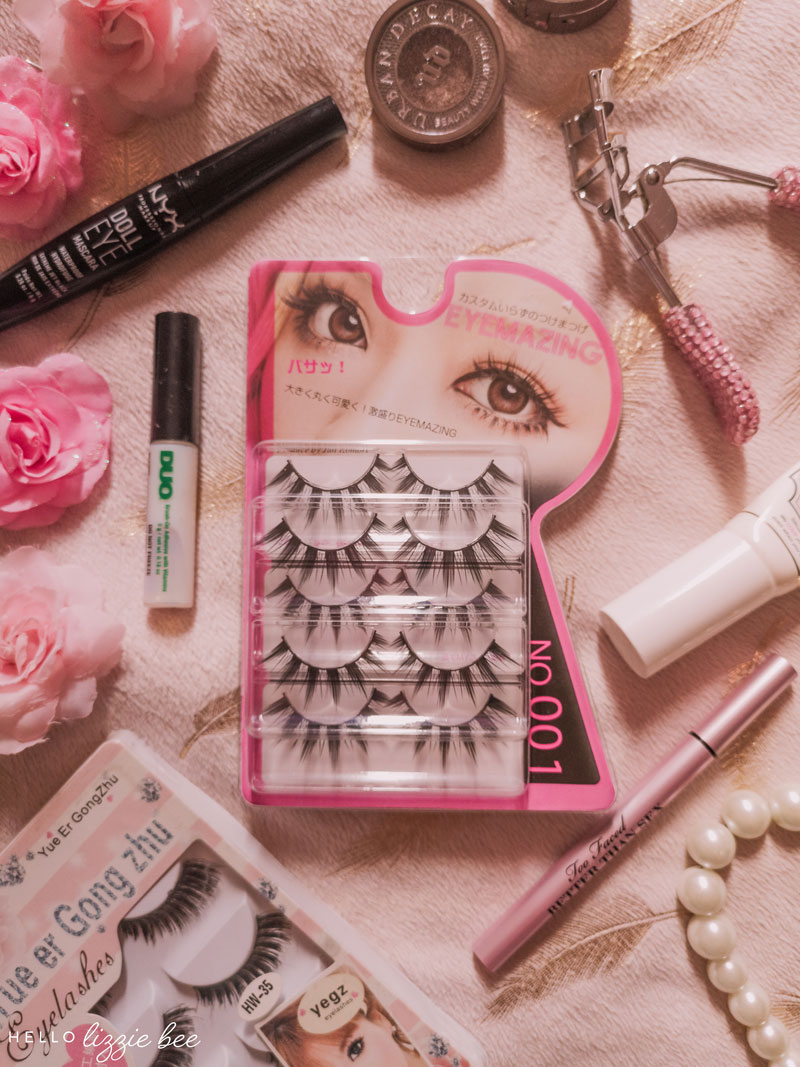 Gyaru false lashes: help + advice via hellolizziebee