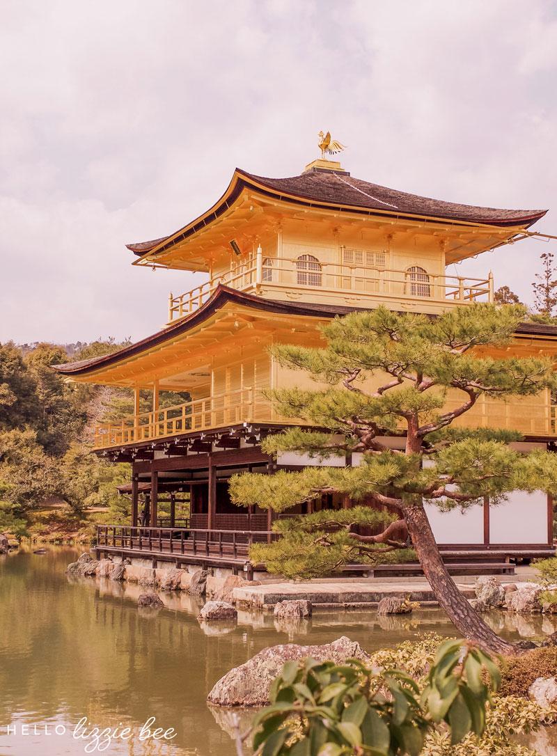 Kinkakuji-temple in Kyoto, Japan Bucket List