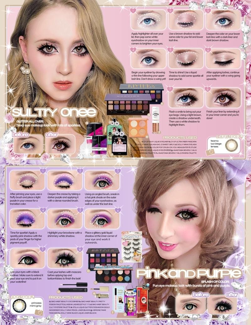 Gaijin gyaru makeup tutorial