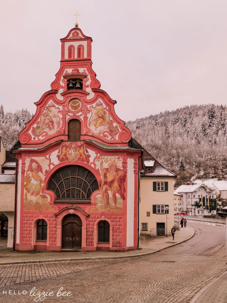 Fussen in Winter by hellolizziebee