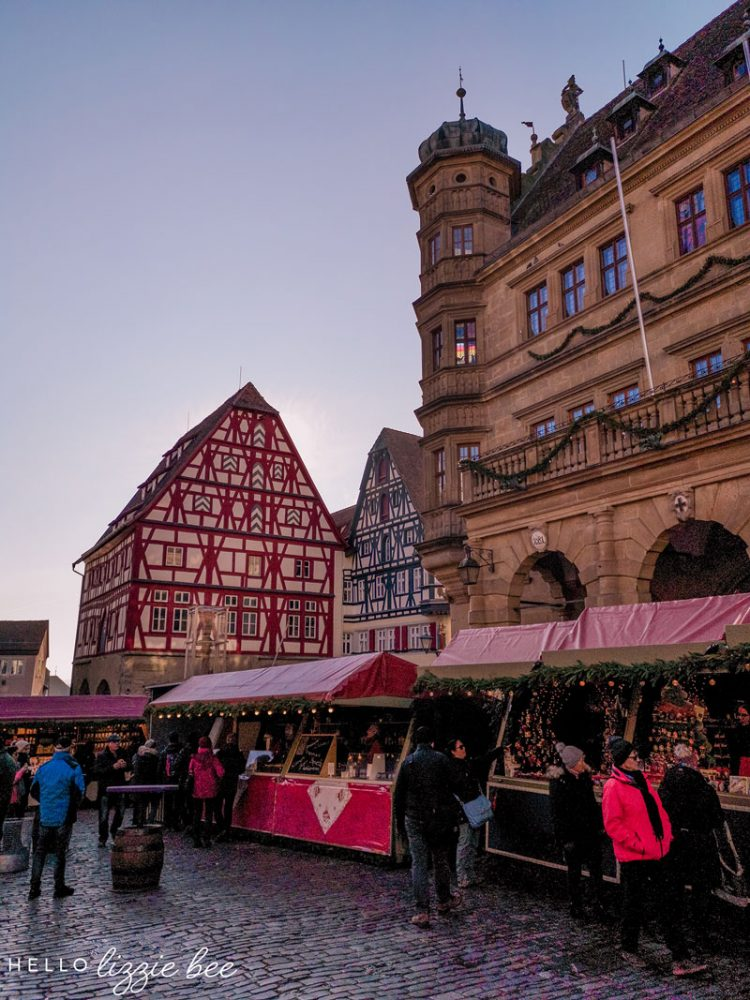 Rothenburg Square at Christmas