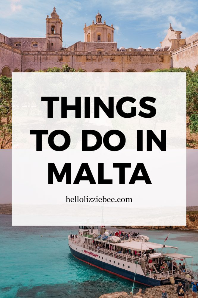 Weekend itinerary for Malta by hellolizziebee