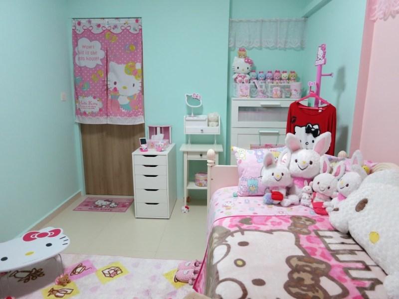 Hello Kitty room inspiration