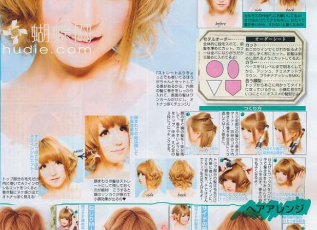 How to do Gyaru with Short Hair