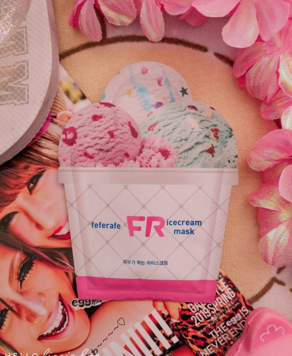 It's Pretty but… Does It Actually Work?  Feferafe Ice Cream Mask Review!