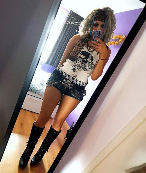 Grunge gyaru outfit by Chris