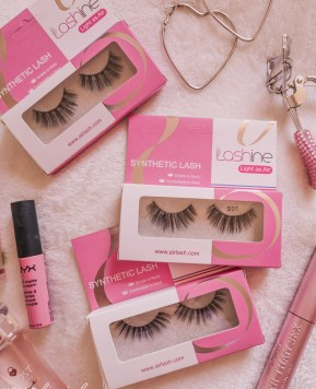 Shining Bright: Lashine False Lashes Review!