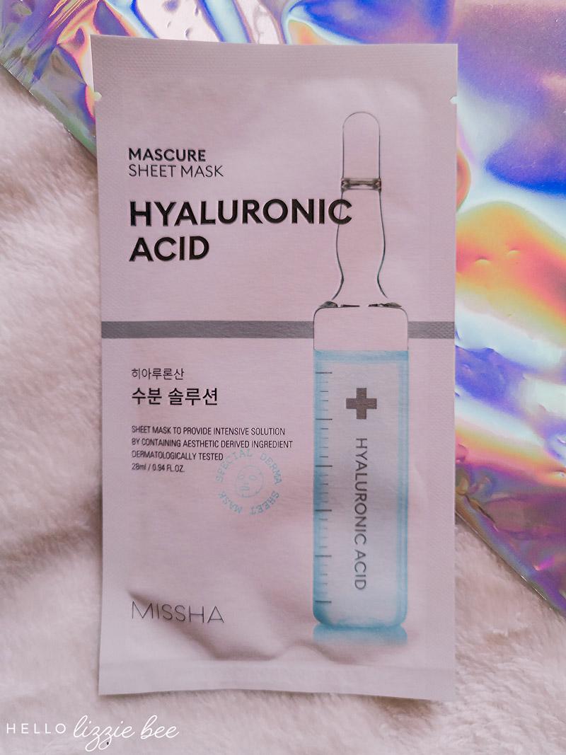 Missha Mascure Hyaluronic Acid Sheet Mask