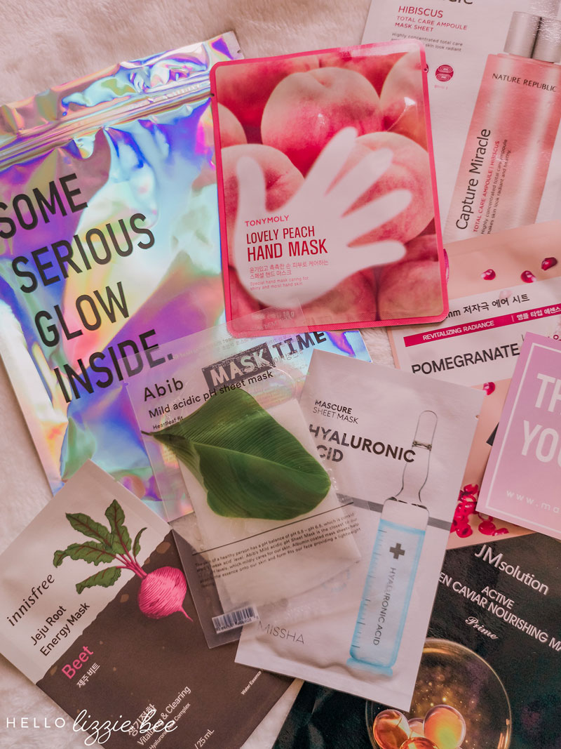 Mask Time Glow Setter Sheet Mask Subscription Box Review