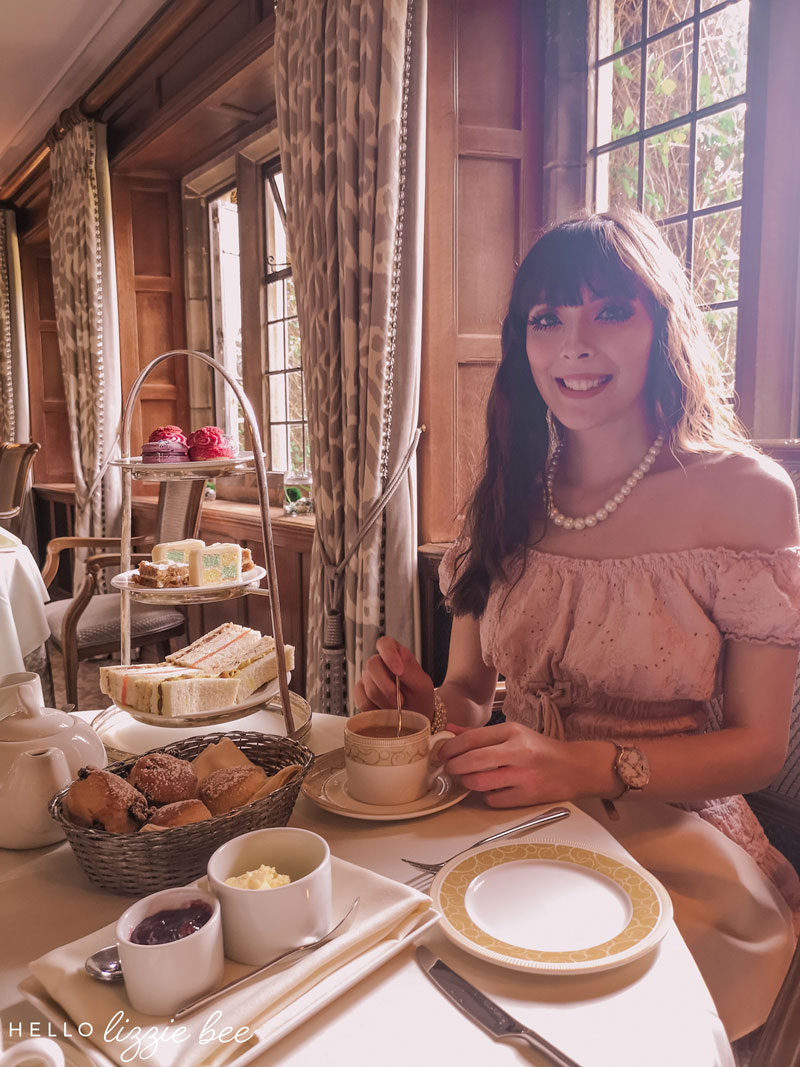 Afternoon Tea at Mallory Court Hotel via hellolizziebee