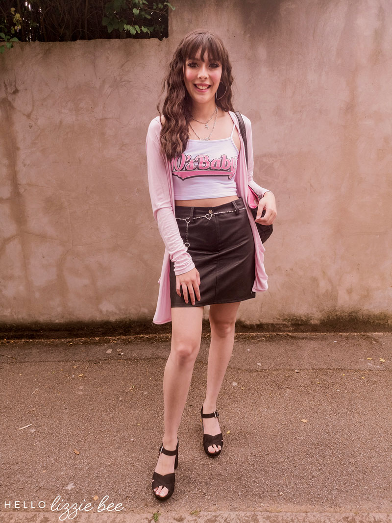 Outfit inspired by Regina George from Mean Girls by hellolizziebee