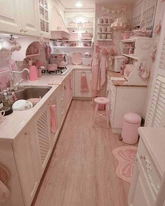 Kawaii Pink Kitchen