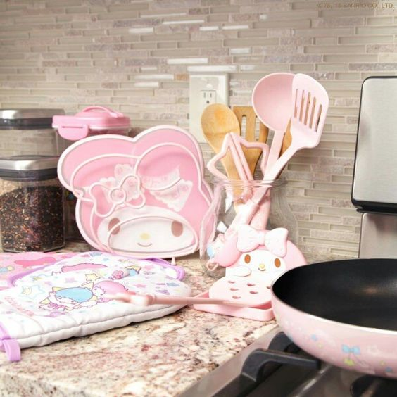 Kawaii My Melody Kitchen Accessories