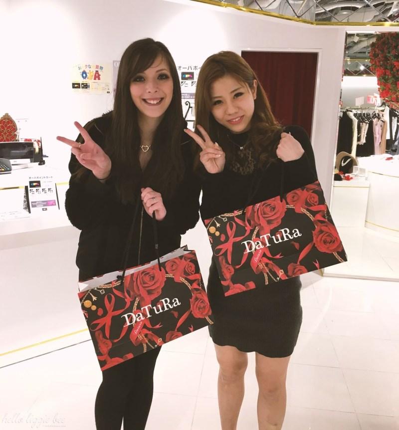 DaTuRa Shop Staff in Osaka