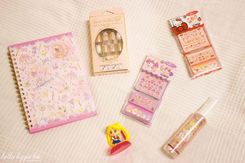 Sailor Moon and Kawaii Items
