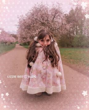 Cherry blossom date + Liz Lisa poncho co*de