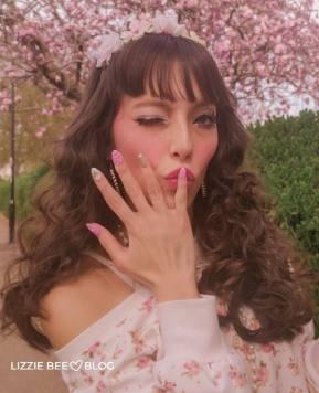 new nail + spring himekaji co*de ♪