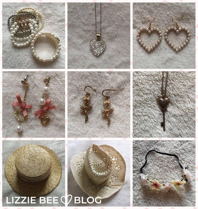Himekaji wardrobe for spring - accessories