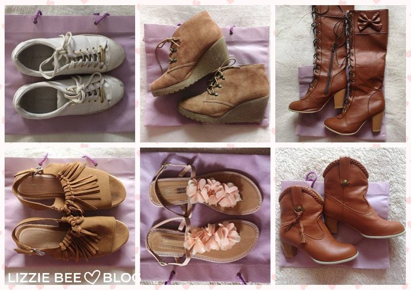 Himekaji wardrobe for spring - shoes