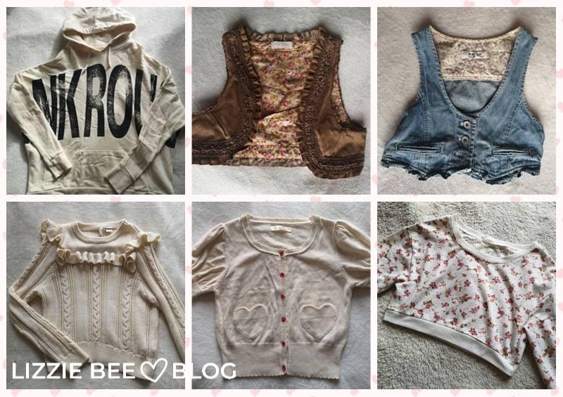 Himekaji wardrobe for spring - outerwear