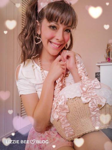 Liz Lisa summer basket bag