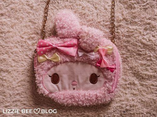 Cute and fluffy My Melody handbag
