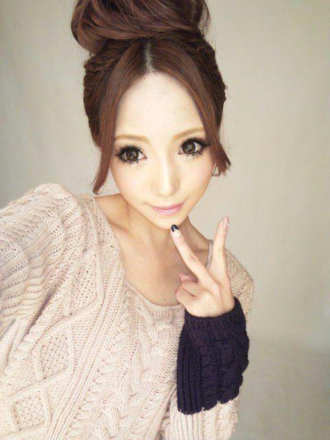 Satomin with Dark Hair