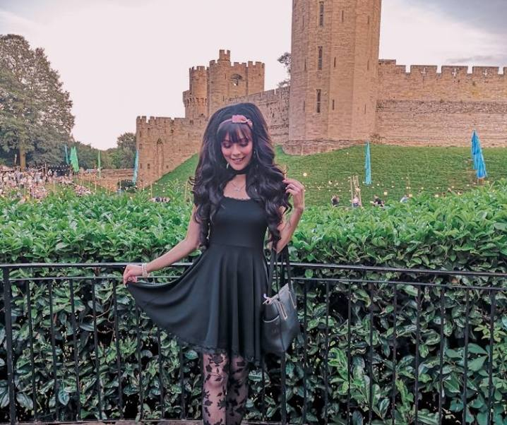 Hime at Warwick Castle! Sundown Spectacular date ♡