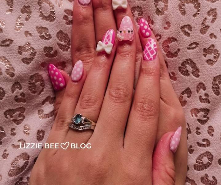 Birthday nail ☆ Hello Kitty!