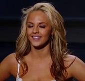 Rachel Applehans dances trashy at Las Vegas SYTYCD callbacks.