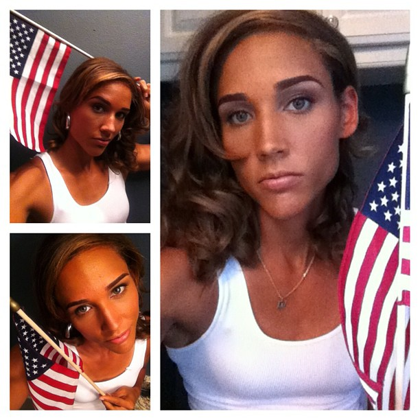 Lolo Jones says everything is made in USA except the flag which is made in China in our Tweets of the Week.