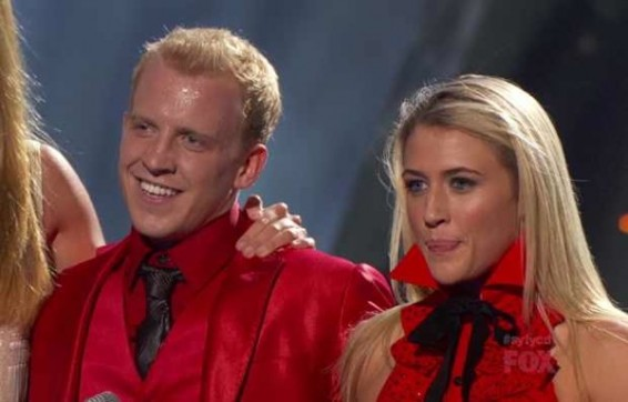 Alexa Anderson and Daniel Baker on SYTYCD Season 9 Top 20.
