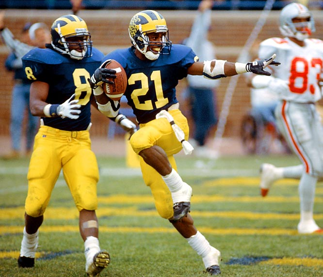 Desmond Howard ranks in one of the best punt returns in college football history.