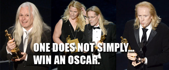 LONG Haired Oscar winners.
