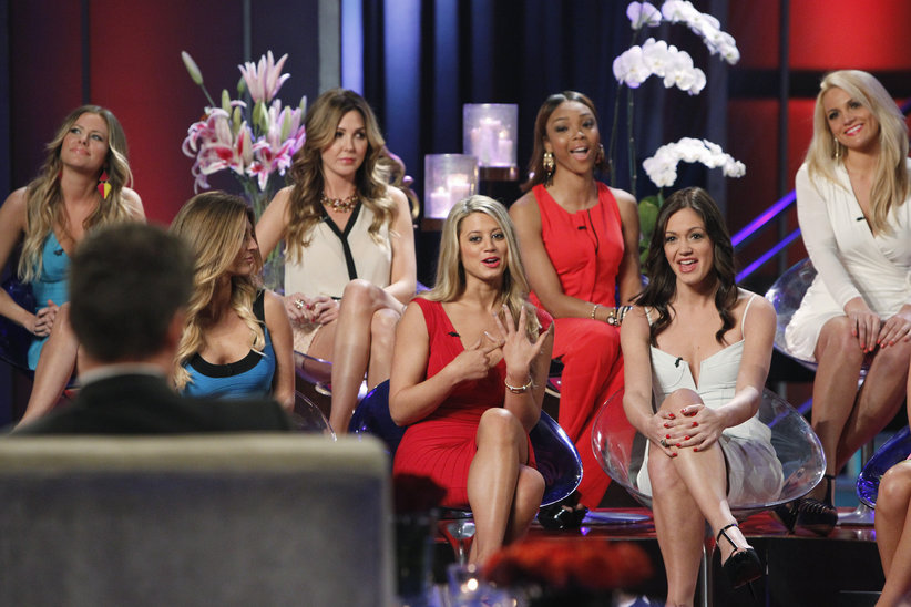Sean Lowe and the Women Tell All episode of the Bachelor.