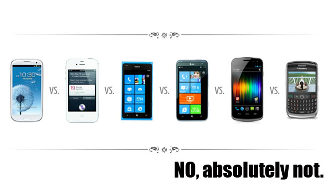 Comparing the Galaxy Samsung to other devices in the Unicorn Apocalypse.