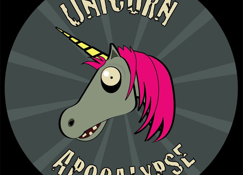 Samsung promotes their Galaxy Note using the Unicorn Apocalypse game.