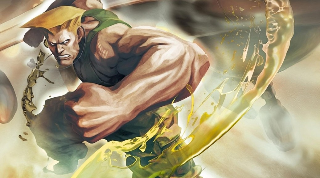 Guile from Street Fighter II theme songs.